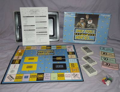 Only Fools and Horses Board Game.