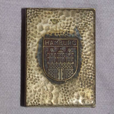 Hamburg Matchbox Holder.