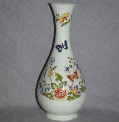 Aynsley Cottage Garden China Bud Vase.
