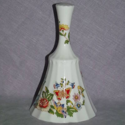 Aynsley Cottage Garden China Decorative Bell.