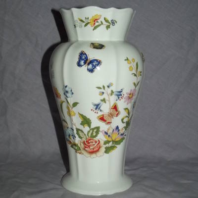 Aynsley Cottage Garden China Large Vase.