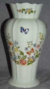 Aynsley Cottage Garden China Large Vase (2)