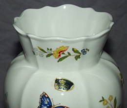Aynsley Cottage Garden China Large Vase (3)