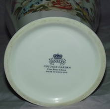 Aynsley Cottage Garden China Large Vase (4)