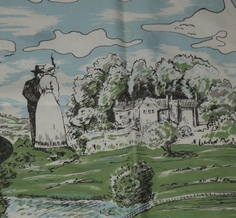 Winston Churchill 1974 Centenary Silk Head Scarf (5)
