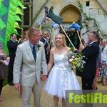 Woodchester Mansion Festival Wedding 6
