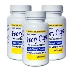 <!-- 003 -->Ivory Caps Skin Whitening Lightening Support Pill (Pack of 3 Save 25.00)