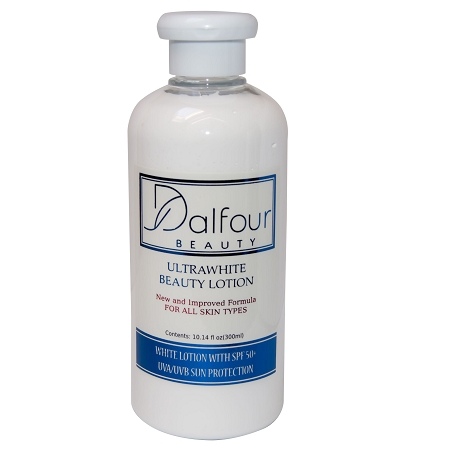 Dalfour Beauty Ultrawhite Body Lotion with SPF 70-Broad Spectrum UV Protect