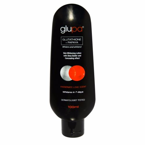 Glupa Lightening Body Lotion with Glutathione & Papaya - Plus Vitamins C &