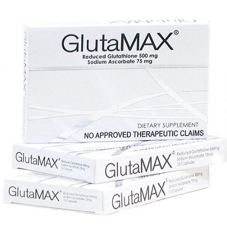 3 Boxes of GlutaMAX Reduced Glutathione & Sodium Ascorbate Capsules - 30 Ca