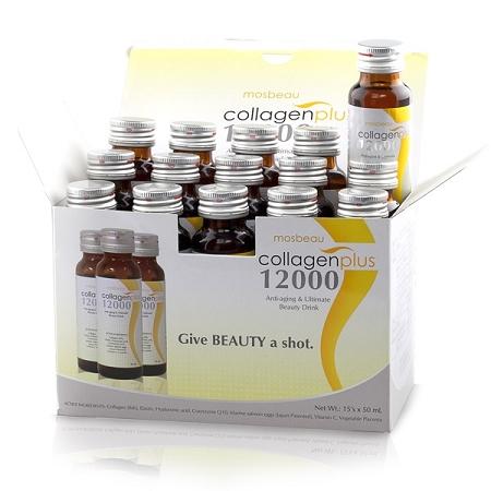 15 Bottles Authentic Mosbeau Collagen Plus 12000 - Anti-Aging & Skin Whiten