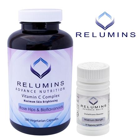 Relumins Advanced Vitamin C MAX Complex & Booster Capsules - Ultimate Boost