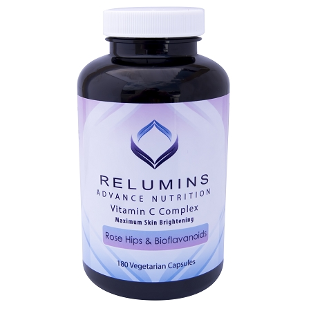 3 Bottles Relumins Advance Vitamin C - MAX Skin Whitening Complex With Rose