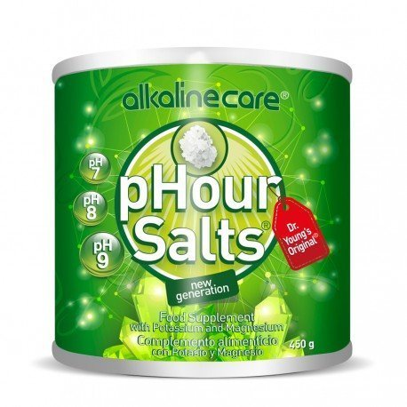 SALTS PHOUR bottle - AlkalineCare Helps the remineralization of the body, h