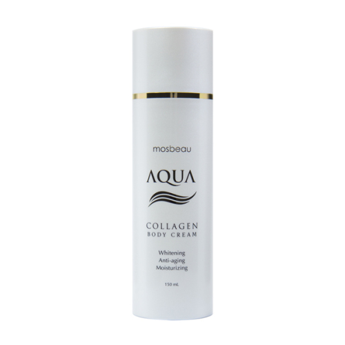 Authentic Mosbeau AQUA Collagen Body Cream - Collagen and Hyaluronic Acid f