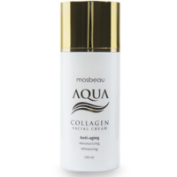 Authentic Mosbeau AQUA Collagen Face Cream - Age Defense with Deep Moisture - NEW FORMULA!