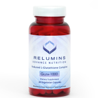 Relumins Advance Nutrition Gluta 1000 - Reduced L-Glutathione Complex - 2x More Effective Than Jarrow at Raising Serum Glutathione