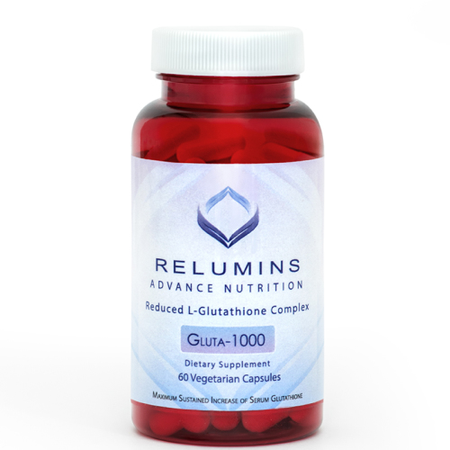 Relumins Advance Nutrition Gluta 1000 - Reduced L-Glutathione Complex - 2x