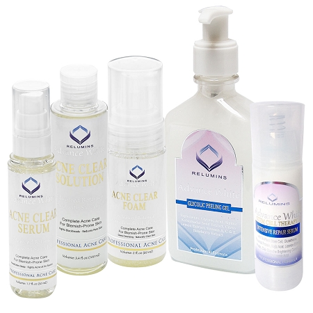 Authentic Relumins Medicated Professional Total Acne & Dark Spot Fighting S
