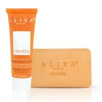 Authentic Aliya Paris Carotiq Carrot Intense Cream and Exfoliating Carrot Soap