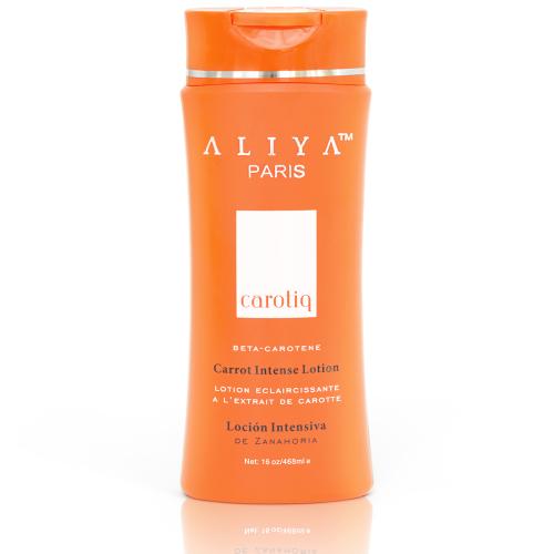 Authentic Aliya Paris Carotiq Carrot Intense Lotion - Nourishing, Moisturiz