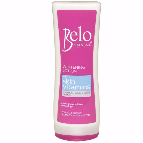 Belo Essentials Whitening Lotion with Skin Vitamins 100ml