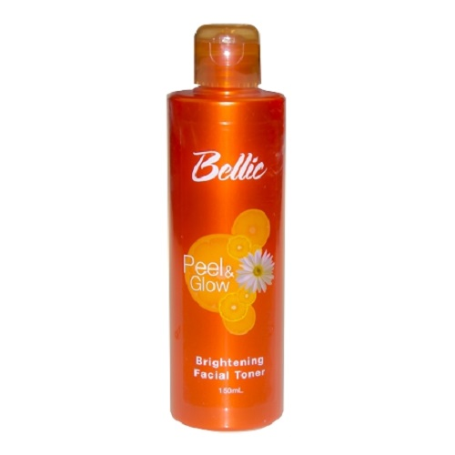 Bellic Peel and Glow Brightening Facial Toner - Fight Oil and Tighten Pores