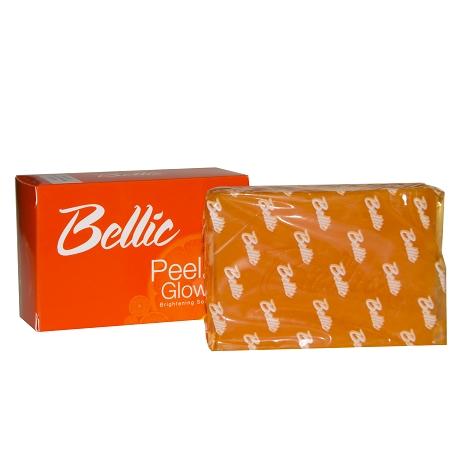 Bellic Peel and Glow Brightening Soap- Kojic Acid Leaves Skin Rejuvenated a