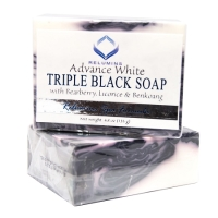10 Bars of Relumins Professional Spa Formula Triple Action Black & White Whitening Soap - Maximum Whitening for Normal