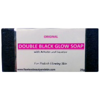 6 Bars of Authentic Arbutin & Licorice Black Soap - Whitening Beauty Bar - SAMPLE SIZE