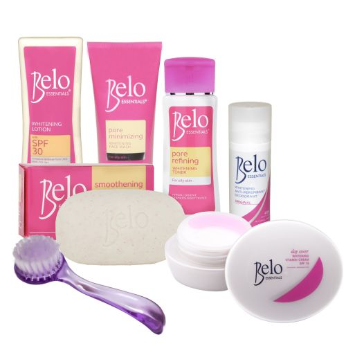 Belo Essentials Pore Refining Whitening Treatment Set with No Capsules- For