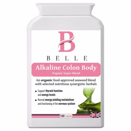 Belle® Alkaline Colon Body supplement - alkalising, cleansing, detoxificati