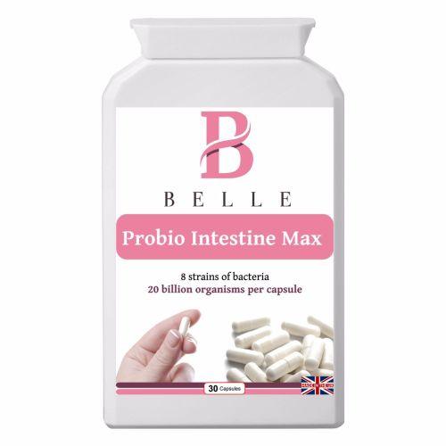 Belle® Probio Intestine Max - 20 billion friendly bacteria per capsule - mu
