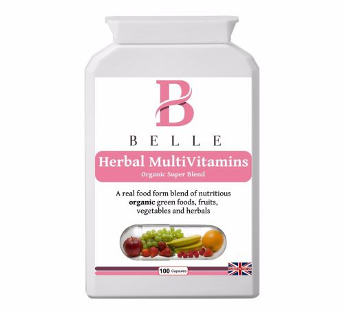 Belle® Herbal MultiVitamins Organic super blend - Nourish, cleanse & detox