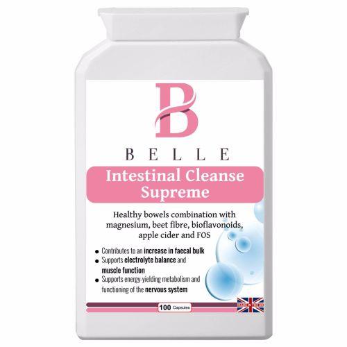 Belle® Intestinal Cleanse Supreme supplement -Suitable for vegetarians & ve