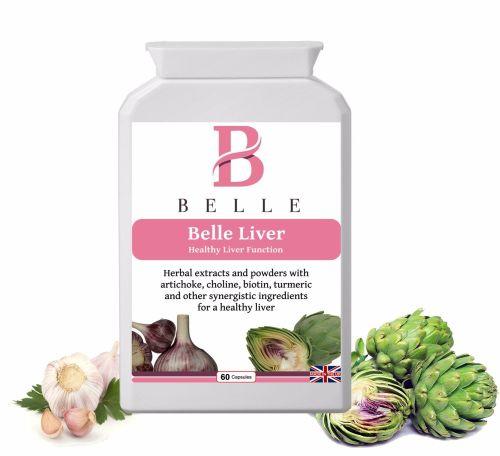 Belle® Liver supplement - for healthy liver and gallbladder support - stimu