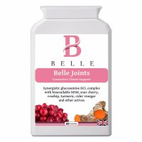 Belle® Joints Connective Tissue Support-Supports Connective Tissue ,Builds Cartilage, Supports Joint Health,Decrease stiffness- 60 capsules