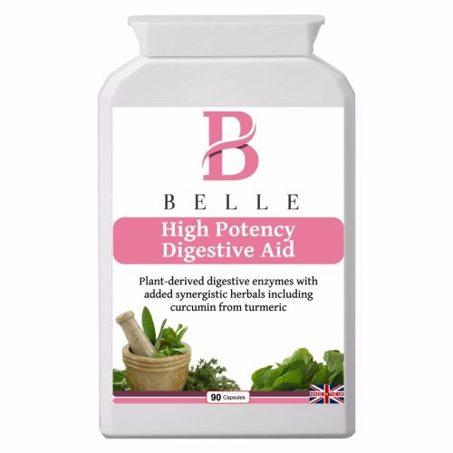 Belle® High Potency Digestive Aid - With High-strength plant digestive enzy