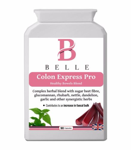 Belle® Colon Express Pro - Detox and Cleanse Supplement - increase in faeca