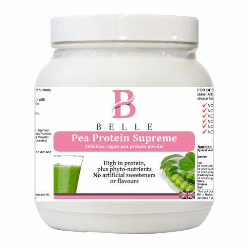 Belle® Pea Protein Supreme Powder - Delicious vegan peas protein powder -50