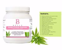 Belle® Hemp Protein Supreme Powder - provides complete, balanced and natural protein from hemp- 500g