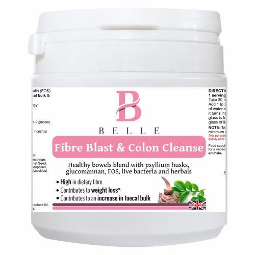 Belle® Fibre Blast & Colon Cleanse Powder - Aids Digestive System, Blood Pr