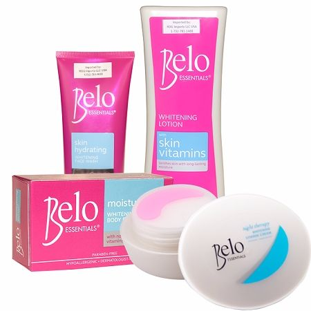 Belo Essentials Nourishing Whitening Treatment Set with No Capsules - For