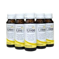 5 Bottles of Authentic Mosbeau Collagen Plus 12000 - Sugar Free, Anti-Aging & Skin Whitening Drinks