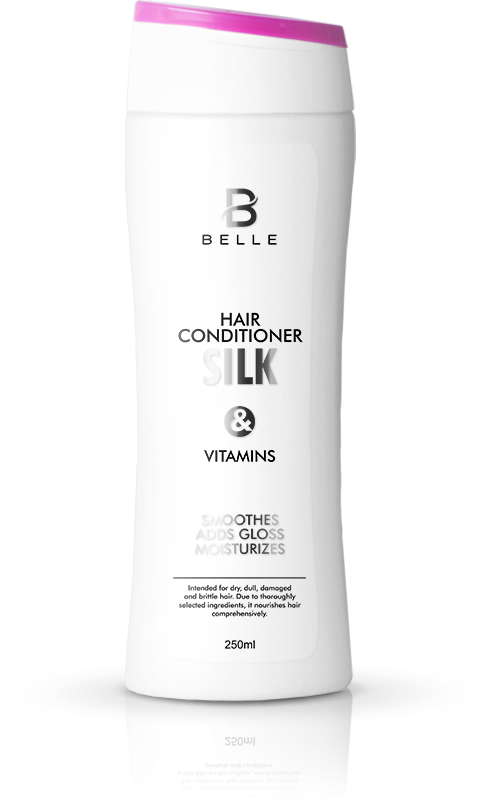 Belle® Silk and Vitamins Hair Conditioner 250ml