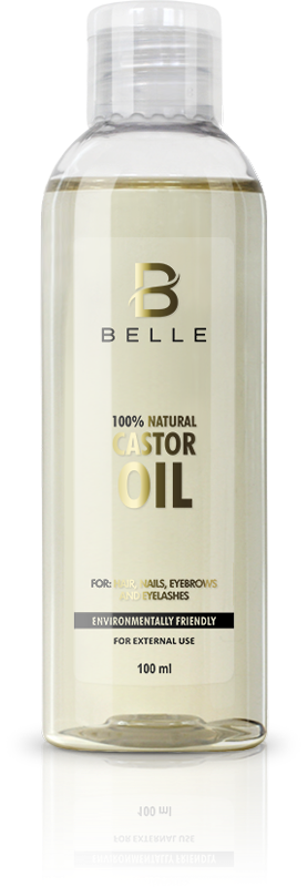 Belle® 100% natural cold-pressed castor oil 100 ml