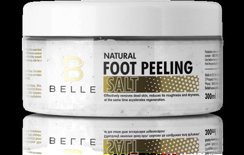 Belle® Body peeling Salt and Oil scrub 300 ml