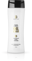 Belle® Hand and Body Oil Scrub with Coconut Shell Powder 275 ml