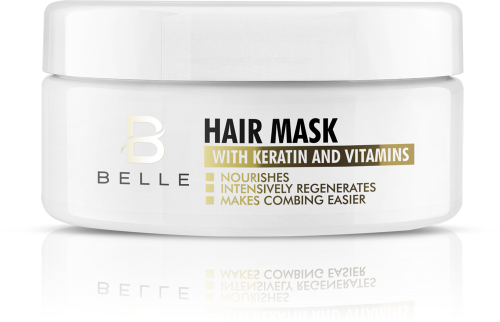 Belle® Hair Mask With Keratin and Vitamins 300ml