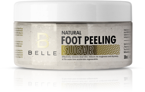 Belle® Natural Foot Peeling Sugar Scrub 300 ml